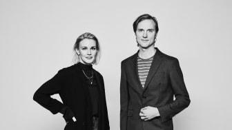 Arkitekten Annie Flodström och inredningsarkitekten Erik Nyström förstärker BSK Arkitekter. Foto: Per Kristiansen