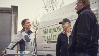 FødevareBanken bringer seks dage om ugen overskudsmad ud til organisationer for socialt udsatte. Foto: andersbrinckmeyer.com