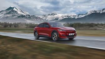 Ford presenterar sammanställd information om nya Mustang Mach-E