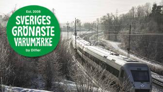 SJ är Sveriges grönaste varumärke 2020