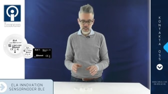 ELA Innovation Sensornoder för Bluetooth