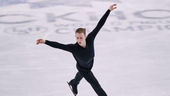 Nikolaj Majorov vidare i final i konståknings-VM
