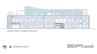 Waterfront, Trelleborgs Hamns nya kontors- och servicebyggnad. (Arkitektkontor Arén AB)