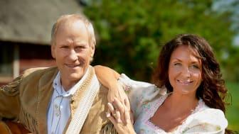 Lasse Sigfridsson och Christina Lindberg. Fotograf: Charlotte T Strömwall