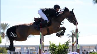 Henrik von Eckermann är tillbaka i Florida. Den här veckan väntar femstjärnig internationell hoppning med hästarna Glamour Girl, Peter Pan och Hera de Landetta II. Foto: Sportfot