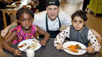 Brunnsboskolan, Hisings Backa, finalist i Arla Guldko 2015 Bästa Matglädjeskola