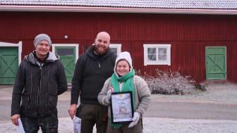 Vinnare av årets Food Hackathon: Team Vauldalen fra Norge