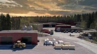 Woodsafe brandimpregneringsfabrik.