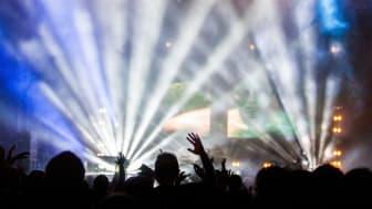 Bild från livekonsert
