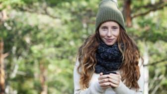 Hanna Olvenmark, Portionen under tian. Foto: Ulrika Pousette.