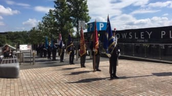 Veterans at this year's Armed Forces Day commemorations