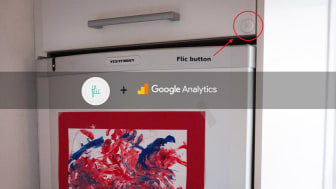 Track your soda habits with Flic and Google Analytics