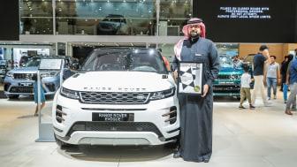 Range Rover Evoque modtager kvindernes pris