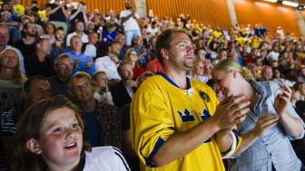 Det är alltid magisk stämning i hockeytemplet Scandinavium.