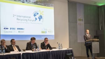 Multiport auf dem 3rd International Recycling Forum Wiesbaden