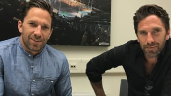 The twin hockey players Joel and Henrik Lundqvist becomes Non-Violence Peace Ambassadors.