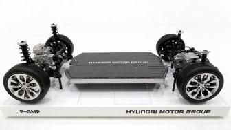 Hyundai Motor Groups dedikerade elbilsplattform - E-GMP.