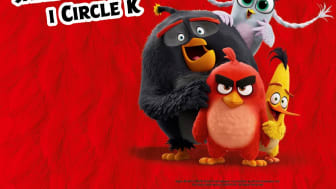 Samlekampagne med de populære Angry Birds figurer hos Circle K.