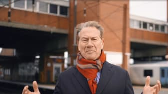 Four commemorative videos have been created in partnership with rail enthusiast and broadcaster Michael Portillo