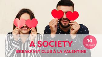 Breakfast club à la Valentine  i Stockholm