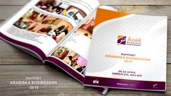 Rapporten om Arabiska bokmässan 2018 presenteras under Bok & Bibliotek i Göteborg.