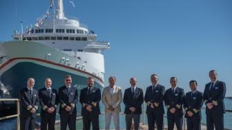 Fred. Olsen Cruise Lines reunites fleet for historic 'Captains in Cádiz' celebration