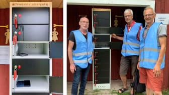 Eldsjälarna Robert Strandh, Mikael Sehlstedt och Rickard Nordenberg är stolta över satsningen.