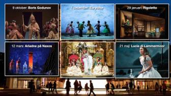 Opera på Metropolitan i New York åter på bio i Lindesberg