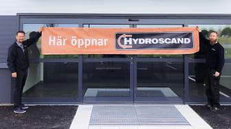 Hydroscand flyttar till nya lokaler i Uppsala.