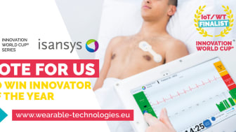 Please vote for Isansys here: http://bit.ly/VOTEisansys