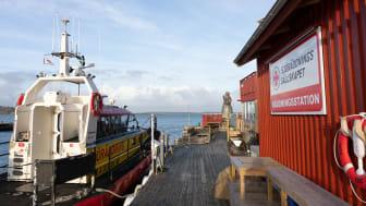 Sillens Dag och Årets Sill sponsrar Sjöräddningsällskapets viktiga arbete till sjöss. (bild Joachim Bråse Klädesholmen Seafood)