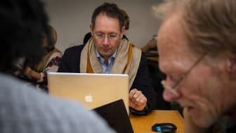 Claudio Calderoni, grundare av Sourcekid och tidigare Klump-medlem.