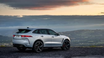 Jag_F-PACE_SVR_22MY_Exterior_Rear_3-4_006_ND_110821