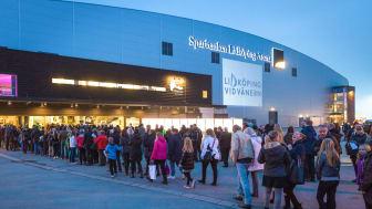 Lidköping värd för Melodifestivalens deltävling fyra