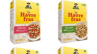 Orkla kjøper merkevaren Havrefras