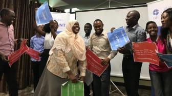 Foto: Kerstin Bergeå, Act Svenska Kyrkan. Nätverket #ChurchesforSDGs i Tanzania hittar sätt att verka trots att det demokratiska utrymmer krymper.