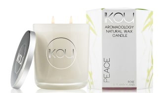 iKOU Wax Candle stort Peace