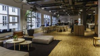 BSK Arkitekters kontor i Stockholm är en av tre finalister i Svenska Ljuspriset. Foto: Dominika Wypych.
