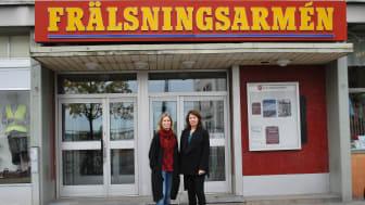 Eva Axell-Hilerström, verksamhetsansvarig på Vårsol - HVB-hem, och Ann-Charlotte Jernberg. verksamhetschef Vårsols familjecenter, Frälsningsarmén. Foto: Frälsningsarmén, pixabay.com