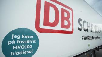 DB Schenker kører nu på HVO100 biodiesel