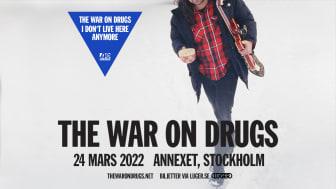 The War on Drugs [US] till Sverige i mars 2022!