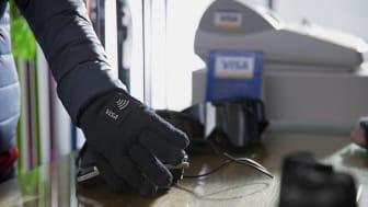 Visa Payment Wearable Glove