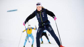 Linn Svahn tvingas till operation för sin axelproblematik. Foto: Bildbyrån