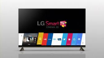 I 2014 LANCERER LG SMART-TV MED WEBOS – GØR DET ENKELT AT SE TV IGEN