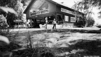 Café Strömsborg 1988. Källa: Örebro stadsarkiv/okänd fotograf.