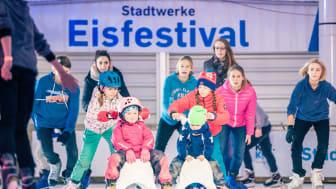 14. November 2019: Eröffnung des Stadtwerke Eisfestivals mit Eisdisco für Groß und Klein an der Hörn