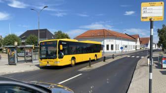 Busslinje 144 kommer efter förlängningen att trafikera sträckan Anderslöv-Malmö.