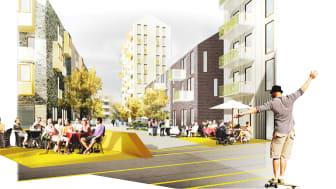 Selma stad - Egnahemsbolaget bygger ca 100 bostadsrätter