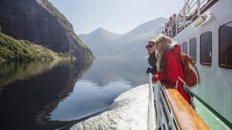 Fjordcruise på Geirangerfjorden starter opp 12. juni 2020