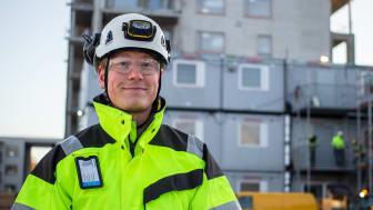 Bonavan työmaapäällikkö Antti Kauppila